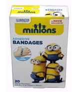 Minion Bandages Despicable Me Adhesive Band-Aids Antibacterial Sterile 2... - $4.45