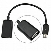 Micro USB Male to USB 2.0 Female Host OTG Adapter Cable for Nexus 7 - $4.87