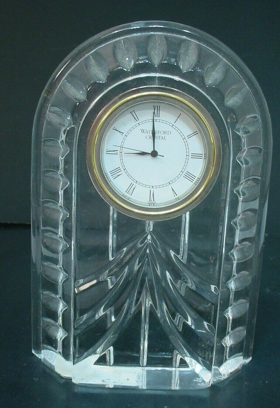"Primary image for Waterford Crystal  Overture Clock ""MINT"""