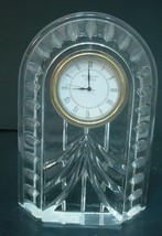 "Waterford Crystal  Overture Clock ""MINT"" - $39.59"