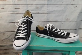 Converse Chuck Taylor All Star Black Low Top  M9166 Canvas Size 13 - $37.39