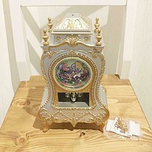 Disney Alice in Wonderland Castle Clock L Table Clock Chisha cat Japan - $58.41