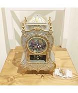 Disney Alice in Wonderland Castle Clock L Table Clock Chisha cat Japan - $58.41