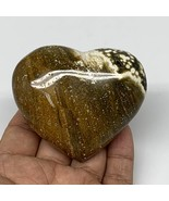 "178g, 2.4""x2.8""x1.2"" Ocean Jasper Heart Polished Healing Crystal, B4936 - $29.69"