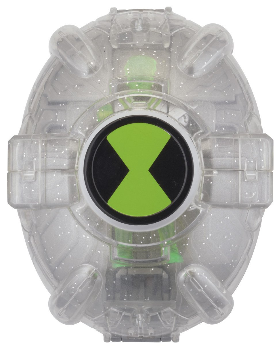 Ben 10 Alien Force Alien Creation Transporter - Silver Nanomech and Ben