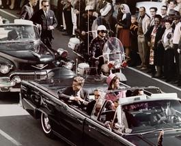 John Kennedy President Assassination Car 8X10 Color Poltical Memorabilia... - $6.99
