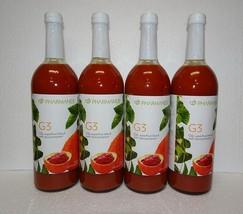 4X Bottles: Nu Skin Nuskin Pharmanex G3 Juice Pack SEALED - $205.00