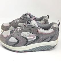SKECHERS Women's Shape-Ups 11806 Toning Rocker Walking Shoes Size 10 M - £27.01 GBP