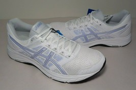 Asics Size 11 GEL-CONTEND 5 White Vapor Running Sneakers New Womens Shoes  - $59.35