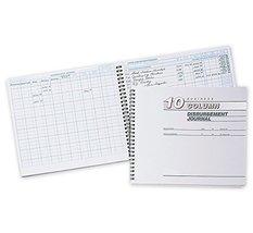 """ABC Disbursement Journal Cash Receipts Register, 10 x 8 1/2"""" - 10 Column - $36.99"""