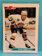 1992-93 Bowman Hockey Pavel Bure #154 - Vancouver Canucks Hall-of-Famer - $2.25