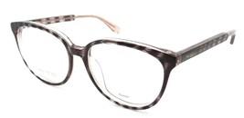 Jimmy Choo Rx Eyeglasses Frames JC 142/F LX9 53-16 Striped Red Glitter A... - $117.60