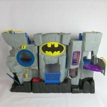 Batman Bat Cave Tower Toy Fisher Price fold up play set 2007 Rare - $43.00