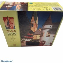 Big Ben 1000 Piece Jigsaw Puzzle Toy Game Virgental Valley Church Austria Complt - $18.70