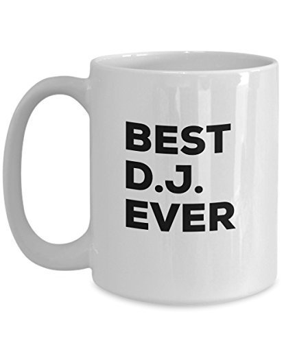 DJ Mug - Coffee Cup - DJ Gifts - For Men Women - Wedding Gift Idea - Birthday Ch