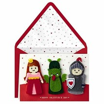 Hallmark Signature Valentine's Day Card for Kids with Finger Puppets Pri... - $9.81