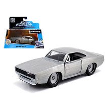 Doms Dodge Charger R/T Bare Metal Fast & Furious 7 Movie 1/32 Diecast Mo... - $15.86