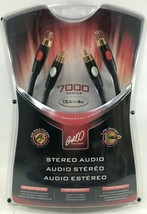 Bell'O - ST7304 - Stereo RCA Cable with 24K Gold Plated Connector - 13.1ft. - Bk - $29.65