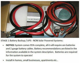 2000 Watt 110/120V Battery Backup/UPS System for powering homes / apartm... - $999.99