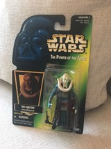 New 1996 Star Wars Bib Fortuna POTF Green Hologram Collection 2 SW-23 - $7.25