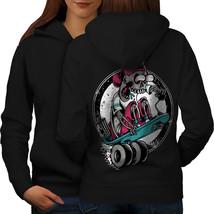 Skater Fast Death Skull Sweatshirt Hoody  Women Hoodie Back - $21.99+