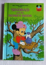 Walt Disney Productions Presents Sinbad and the Robber Birds Hardcover B... - $8.59