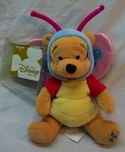 Walt Disney Easter 2000 WINNIE THE POOH AS BUTTERFLY Bean Bag STUFFED AN... - $15.35