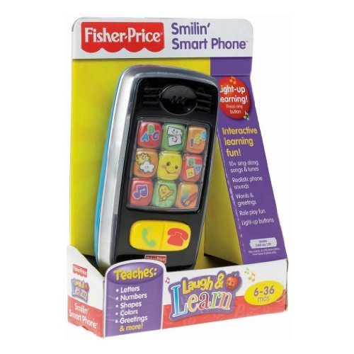 Toy / Game Fisher-Price Laugh & Learn Smilin' Smart Phone - Realistic phone's so