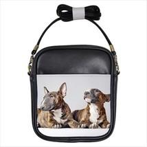 Bull Terrier Leather Sling Bag & Women's Handbag - Dog Canine - $14.54+