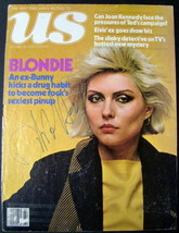 BLONDIE AUTOGRAPHED MAGAZINE COVER - $123.75