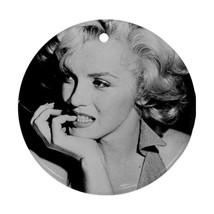 Memorabilia Round Ornament - Marilyn Monroe Procelain Ornament (Round) C... - $3.99
