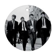 Memorabilia Ornament - The Beatles Procelain Ornament (Round) Christmas - $3.99