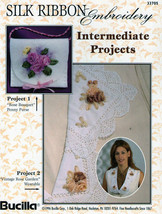Silk Ribbon Embroidery~Intermediate~Roses - $3.50