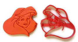 The Little Mermaid Ariel Face cookie cutter - $8.99