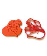The Little Mermaid Ariel Face cookie cutter - $8.99