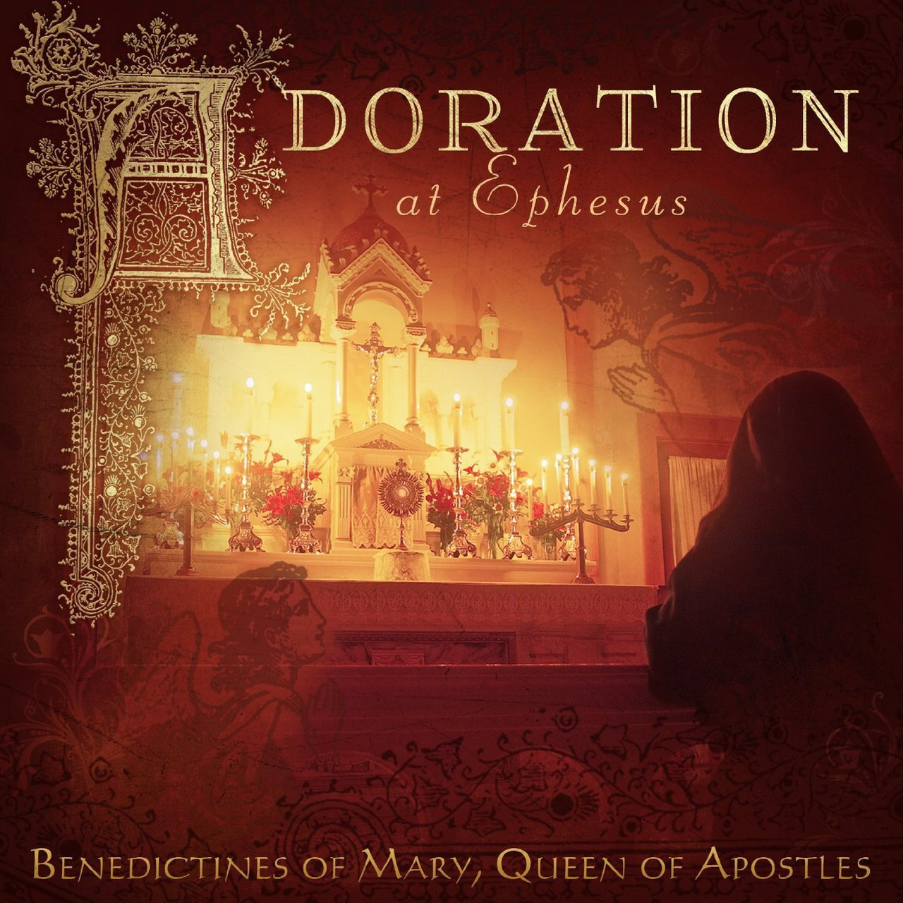 Adoration at ephesus by benedictines of mary  queen of apostles