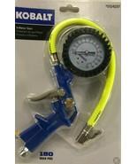 Kobalt Inflator Gun Tire Air Gauge Compressor Pressure Hose Accessory Au... - $35.59