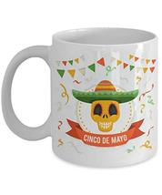 Cinco de Mayo mug, day of the dead coffee cup, cinco de mayo gift, fiest... - $19.95