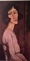 Portrait of Marguerite (MINI PRINT) By Amedeo Modigliani - $45.00