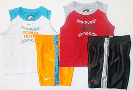 Nike SB Toddler Boy Shorts Outfits 2 Choices in Sizes 24M 2T or 3T NWT - $20.99