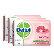 3 x Dettol Soap Value Pack, Skincare 125 gms each - $15.75