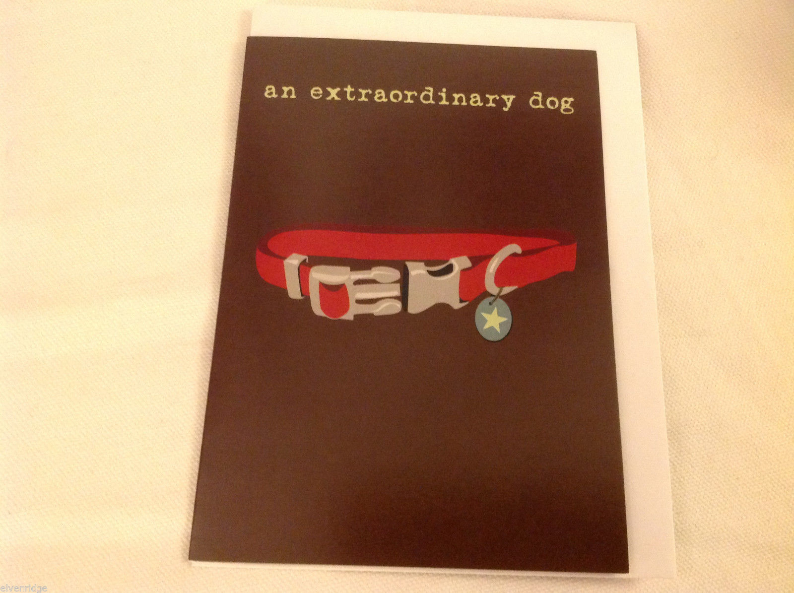 Canine Gift Greeting Card  Extraordinary Dog hard to lose sympathy DOG IS GOOD