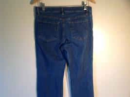 "Liz Claiborne Women's Size 8 / 8R ""Jackie"" Jeans Medium Wash Straight Cut Legs"