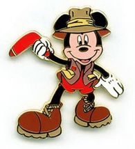 Disneyland Mickey Mouse Australian DLR pin/pins - $34.99