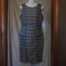 NWOT Liz Claiborne Black/White Career Party Dress Size 8 - $20.78