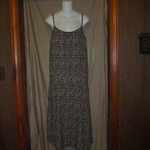 NWOT Liz Claiborne Black/White Career Party Sun Dress Size Large - $15.83