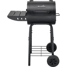 Barrel Style Charcoal Grill Charbroil BBQ Barbecue Grilling Outdoor Back... - £124.91 GBP