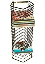 CD Tower Organizer Freestanding or Mounted Media Storage Unit Holds 35 CDs - $21.00