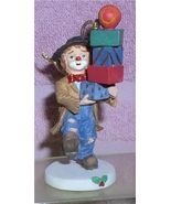 Emmett Kelly Jr circus clown Signed on Box Pile of Package Flambro ornam... - $23.21