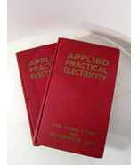 Coyne Practical Applied Electricity 1946 Vol 1 and 3, Coyne Electrical - $25.00